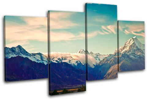 New Zeland Mount Cook Landmarks - 13-0335(00B)-MP04-LO